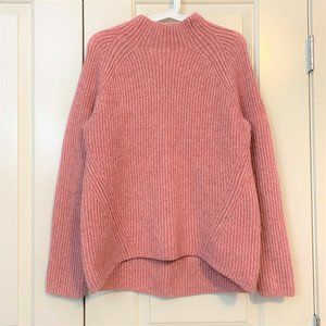 NWOT Madewell pink wool blend sweater